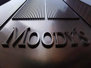 New York-based credit ratings agency Moody's downgraded the commonwealth's credit rating to near-junk status.