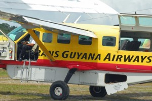 Trans Guyana Airways is one of the carriers that uses the Ogle International Airport. (Credit: Larry Luxner)