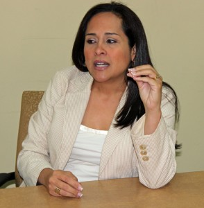 Grace Santana, head of the IFA and the P3 Authority