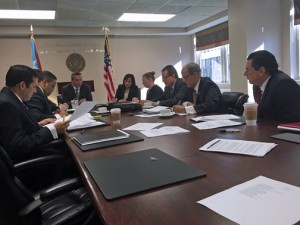 Gov. García-Padilla and members of his Cabinet spent the day in meetings in Washington Thursday.