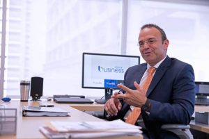 Antonio Llona, vice president of Liberty Business.