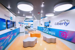 Liberty's new 2,515 square-foot customer service center in Plaza del Sol.