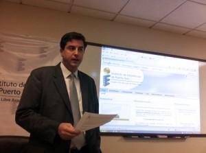 Statistics Institute Executive Director Mario Marazzi-Santiago.