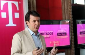 Jorge Martel, vice president of T-Mobile Puerto Rico