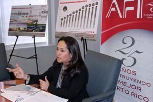 Infrastructure Financing Authority Executive Director Grace Santana.
