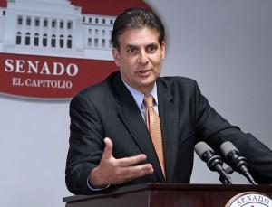 Senate President Eduardo Bhatia.
