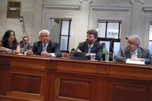 From left: Economists Rosario Rivera, Antonio Rosado, Vicente Feliciano, and Juan Lara.